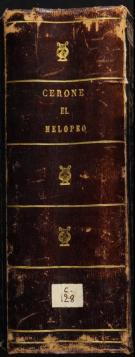 Pedro Cerone, El Melopeo y maestro